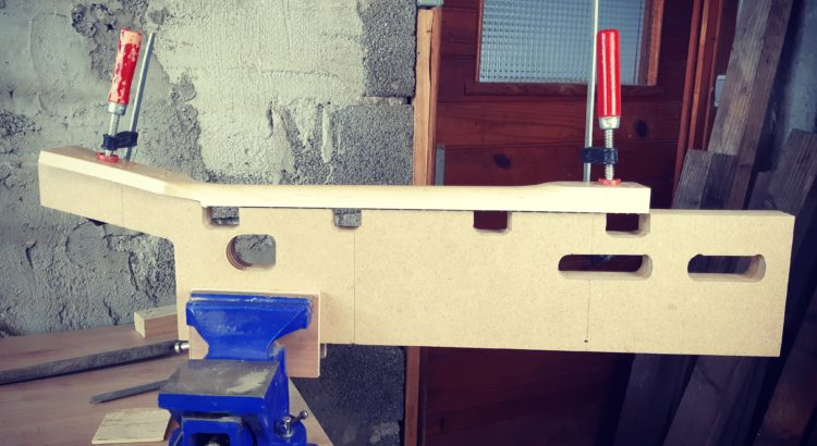 neck shaping jig