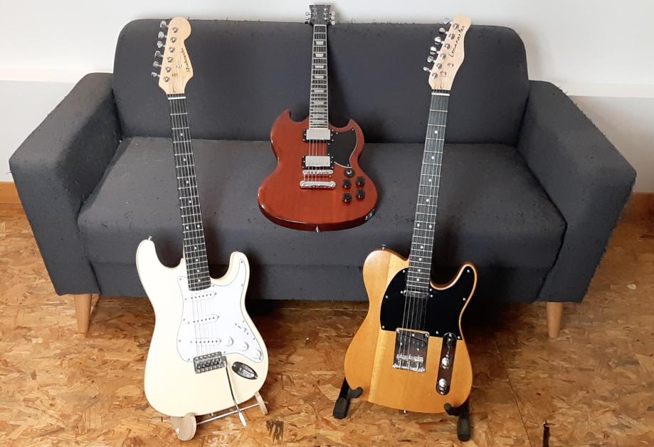 guitares kit diy